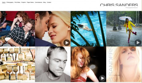 annoucement of the new chris-sanders.com website
